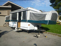 2002 Coleman Sun Valley Pop Up Tent Trailer for sale!