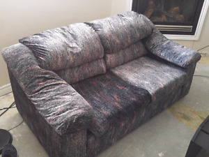Sealy couch, loveseat and chair, used. 200 OBO.
