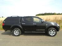 MITSUBISHI L200 2.5 DI-D CR WARRIOR LB DOUBLE CAB PICKUP 4WD AUTO 4DR (EU5)