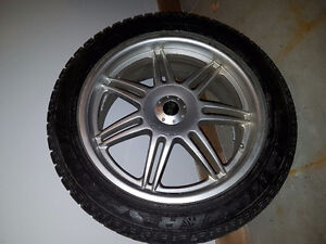 """Snow Tires on 18"""" Alloy Rims - Before the Snow Flies! Kitchener / Waterloo Kitchener Area image 1"""