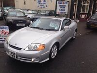 HYUNDI SE COUPE / FULL MOT / FSH / ONLY 70000 MILES / £1395!!!