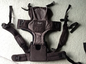 Snugli front and back baby carrier