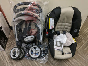 Graco Fastaction Fold Click Connect Stroller and Car Seat, New