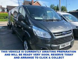 image for 2016 16 FORD TRANSIT CUSTOM 2.2 290 LIMITED 3 SEAT LOW ROOF MASSIVE HIGH SPEC PA