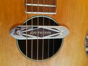 Vintage Blues Parlor Acoustic Small Body Guitar/ Gretsch pickup