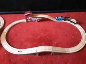 Thomas wooden train sets .