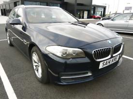 BMW 530d 5 series diesel 3.0 estate 2014 long MOT leather