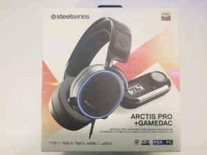 Steelseries Arctis Pro + GameDac Gaming and Audiophile Headset