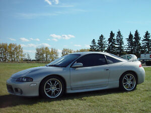 1999 Mitsubishi Eclipse GST Coupe (2 door) FWD