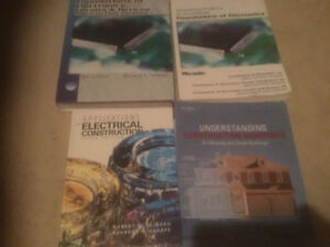 Electrical text books for Sheridan College
