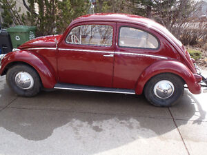 Classic Beetle with Rebuilt Transaxle and Engine