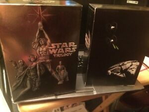 Star Wars collection books DVD