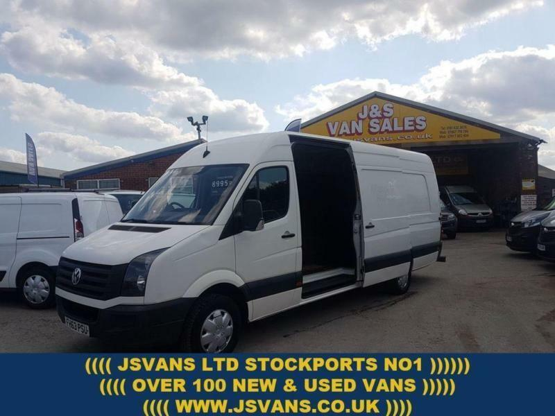 30d2cce955 2014 63 VOLKSWAGEN CRAFTER EXTRA L.W.B 5.0 MTS HITOP 1 OWNER BIGGER 163 BHP  + A