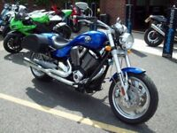 Victory Hammer S, beautiful condition, low mileage modern American muscle bike- plus extras