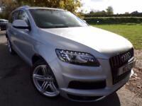 2010 Audi Q7 4.2 TDI Quattro S Line 5dr Tip Auto FASH! Sat Nav! Keyless! 5 d...