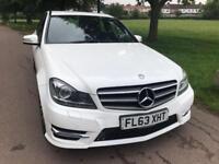 Mercedes-Benz C220 2.1CDI ( 170bhp ) 7G-Tronic Plus 2013MY CDI AMG Sport Plus