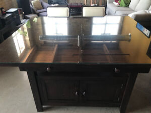 Cantina Counter Table and Counter Height Bar Stools!