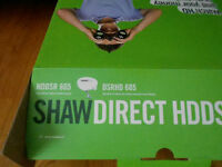 Shaw Direct HDDSR 605 receiver and dish