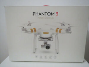 Brand New DJI Phantom 3 Professional Quadcopter Drone 4K Camera