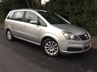 7 SEAT - 2005 VAUXHALL ZAFIRA - LONG MOT - CLEAN - COLD AIR CON - NICE