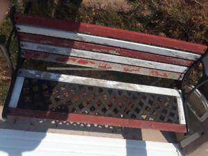 Out door bench