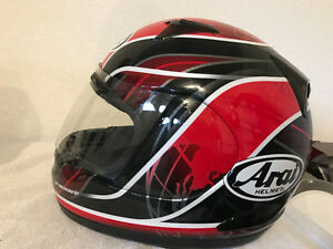 Best made motorcycle helmet Arai size Large full face like NEW