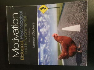 Motivation Biological, Psychological, and Environmental  4th Ed.