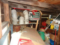 Shed Contents - ALL Must Go
