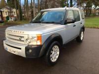 2006 56 LAND ROVER DISCOVERY 2.7 3 TDV6 SE 5D AUTO 188 BHP DIESEL