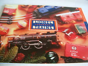 Lionel 1998 model train catalogue railroad guide