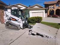 Concrete Removal  587-834-0000 / Debit & Credit  Accepted!