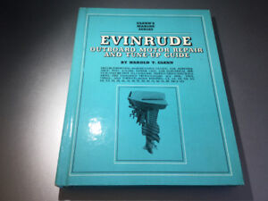 1952-1970 Glenn's Evinrude Outboard 1.5-115 HP Manual 1-4 Cyl