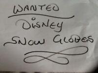 WANTED Disney snow globe snowglobes
