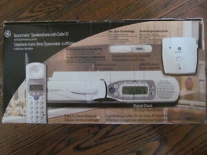 Vintage radio plus phone combo, space saver, Brand NEW in box