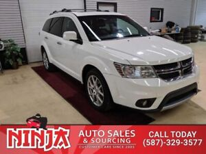2012 Dodge Journey RT  AWD AWD Leather 7 Pass Sunroof  Safetied