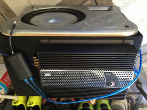 Kicker amp and 10 inch sub/box