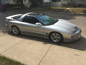 1999 SILVER TRANS AM T-TOP EXCELLENT CONDITION