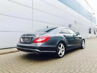 2011 61 reg Mercedes-Benz CLS350 3.0 CDI Sport AMG Coupe + HUGE SPEC + GREY