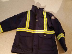 Helly Hansen winter coat, NEOS overshoe, Condor  Rainsuit