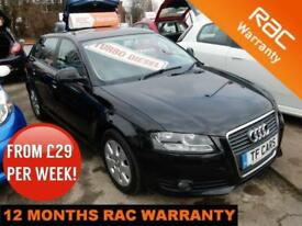 2009 Audi A3 1.9TDIe Sportback SE- £30 ROAD TAX! FINANCE AVAILABLE AT LOW RATES!