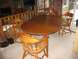 Solid Maple kitchen table