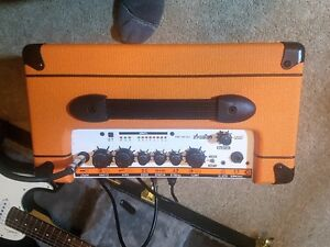 LEFT HANDED Godin Session Guitar and Orange CRrush 20RT AMP Prince George British Columbia image 4