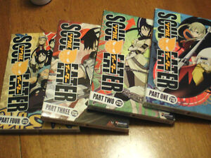 Soul Eater collection, 4 DVD's and poster