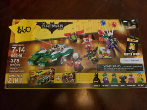 Various Lego Batman Lego Sets For Sale Brand New and Sealed