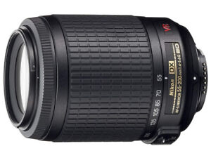 """NEW""Nikon 55-200mm f4-5.6G AF-S DX VR Zoom Nikkor Lens"