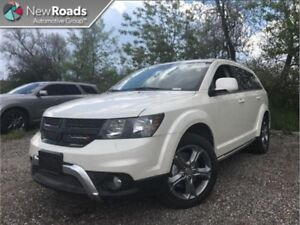 2017 Dodge Journey Crossroad  - Leather Seats - $178.98 B/W