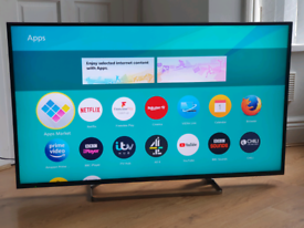Panasonic 50 inch 4k Ultra HD LED Smart TV excellent condition