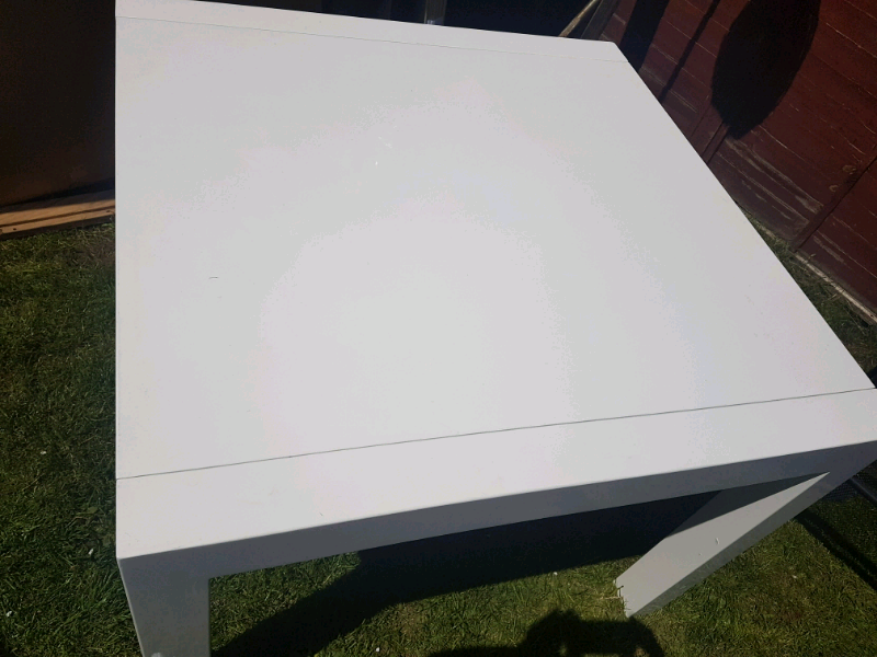 Bramante 4 8 Seat Square Extending Dining Table White In Leicester Leicestershire Gumtree