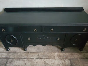Black TV Console - Visit our SHOP!