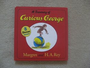 Curious George Treasury Book (8 Stories)